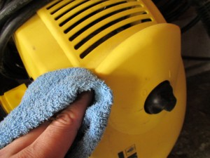 高圧洗浄機 清掃