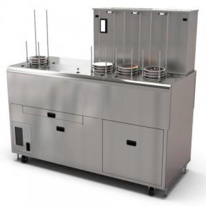 回転寿司皿専用 自動皿洗浄機