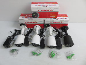 防犯カメラを高価買取してもらうポイント