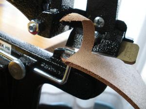 革漉き機の使い方