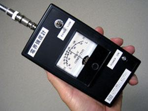 電界強度計の使い方