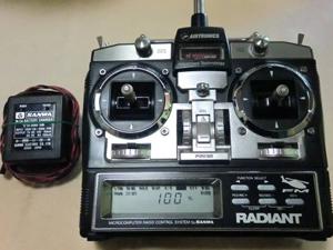 ヘリ用送信機 充電器