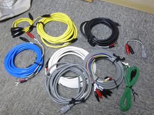 位相特性試験装置 ケーブル 必要な付属品 揃える
