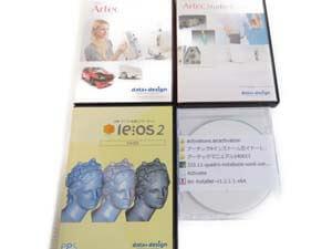 ARTEC EVA-M 3D SCANNER ハンディ3Dスキャナー アプリケーションソフト