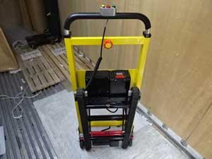 サンコー 電動階段のぼれる台車 ELECTRLOPB 勾配角度の調整