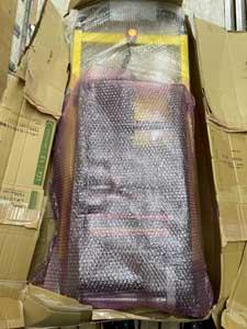サンコー 電動階段のぼれる台車 ELECTRLOPBの梱包2