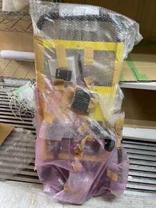 サンコー 電動階段のぼれる台車 ELECTRLOPBの梱包1