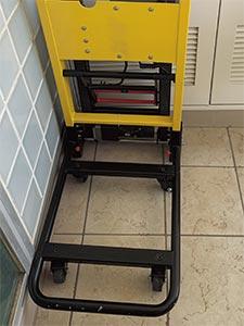 サンコー 電動階段のぼれる台車 ELECTRLOPB キャスター
