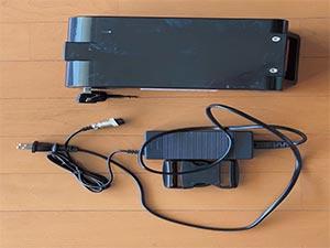 サンコー 電動階段のぼれる台車 ELECTRLOPB 充電ケーブル